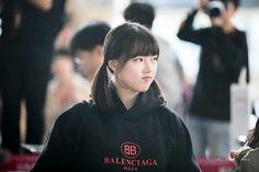 Gfriend-Yerin 181008 Gimpo Airport to Japan Kim Ye Won, Jung Eun Bi, G Friend, Korean Singer, Girl Group, Nct, Twins, Dancer, My Love