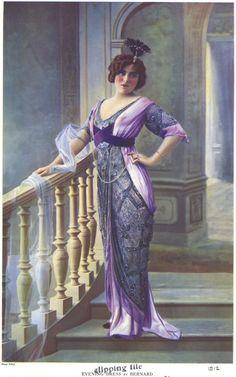 1912, Evening dress by Bernard