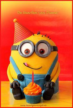 It's a party Minion! - Cake by Diane Gunst