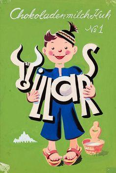 Chokoladenmilch-Kuh [sic] N°1 - De Villars