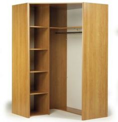 Corner Wardrobe (interior layout idea for kid's room)