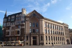 Siège de la Radio lettone. Doma Laukums, Riga.