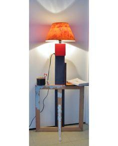 Lampe plafonnier esprit recup mat riaux de r cup ration for Plafonnier osier