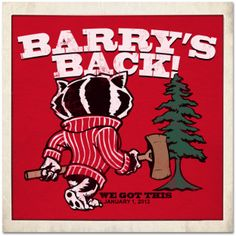 2013 Rose Bowl Wisconsin Badgers Football Barry's Back T-shirt
