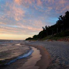 Beautiful Lake Michigan Sunsets