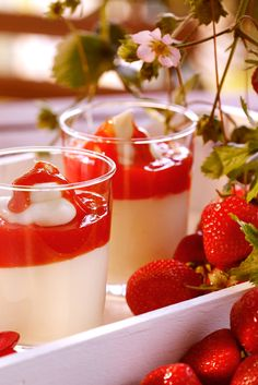 Fruchtig-süßes Dessert für den Sommer
