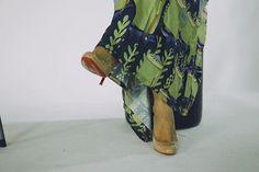 Fatma Al Mulla Dress + Louboutins go hand in hand 😍