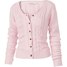 Cameron Linen Mix Cardi ($60) ❤ liked on Polyvore featuring tops, cardigans, sweaters, jackets, outerwear, women, long sleeve tops, linen cardigan, pink cardigan and fitted tops