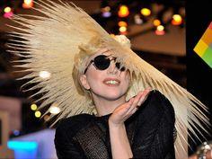 Philip Treacy hat for Lady Gaga