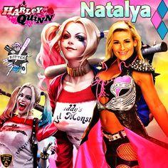 natalya with harley quinn wallpaper theme i done :) i hope everyone enjoys this Black lightning