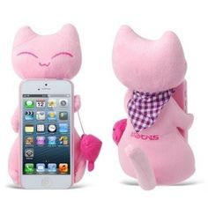 With this Lovely Plush Cat Design Back Case for iPhone 5, your mobile device can wear a gorgeous look with maximum protection.   http://www.icase-zone.com/lovely-plush-cat-design-back-case-for-iphone-5-p-408.html