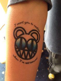 4-radiohead tattoos