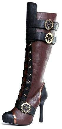 Steampunk Cosplay, Robots Steampunk, Steampunk Halloween Costumes, Steampunk Shoes, Steampunk Skirt, Steampunk Accessories, Victorian Steampunk, Steampunk Clothing, Steampunk Outfits