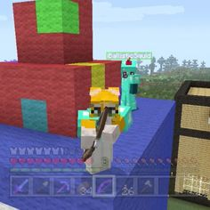Squid, Stampy, L-For-L...L For Lee Minecraft Channel