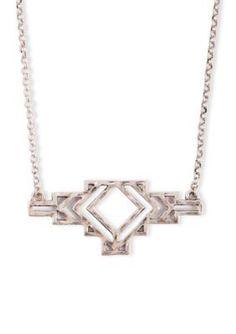 Lucky Brand Jewelry  Arizona Silver-Tone Necklace