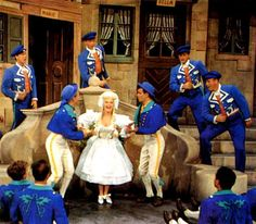 """'Wabash Avenue'-a remake of 'Coney Island' with the original star, Betty Grable, here singing Wilhemina which dared to rhyme """"toboggan"""" with """"Copenhagen"""""""