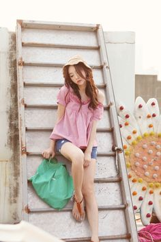 Korean Fashion LS street style