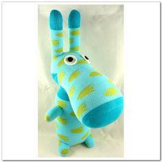 Handmade Sock Donkey  by supersockmonkeys