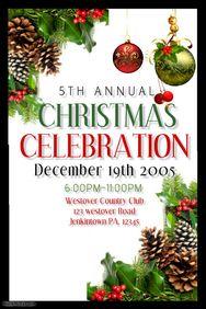 Christmas Poster Template. See More. Christmas  Christmas Poster Template