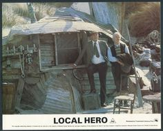 Local Hero -- Bill Forsyth, 1983 Local Hero, Fulton, Lancaster, Gazebo, Films, Outdoor Structures, Sky, World, People