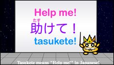 Basic Japanese Phrases: Help me! – Review Notes