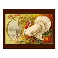 Vintage cards are so beautiful! Vintage Thanksgiving Turkey Postcard on Zazzle. Thanksgiving Invitation, Thanksgiving Greetings, Happy Thanksgiving Day, Vintage Thanksgiving, Thanksgiving Traditions, Thanksgiving Parties, Thanksgiving Turkey, Thanksgiving Decorations, Thanksgiving Celebration