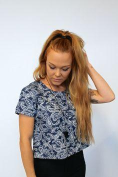 TytDIY: Bandana shirt