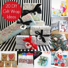 20 Fun Ways to Wrap Your Gifts - diycandy.com