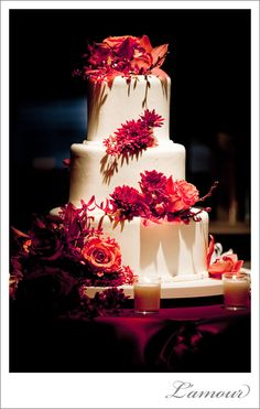 Hawaiian+Wedding+Cake | Tier Cake by Louisville Wedding Cakes Photo by Red Tree Photography