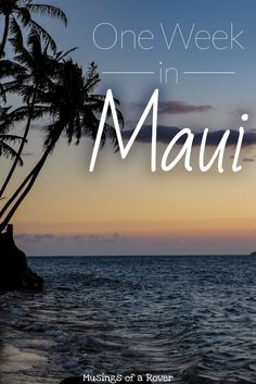 There's so much to see & do in Maui: snorkeling, beaches, waterfalls. But where to start? Here's a Maui itinerary packed with everything you need to see.: