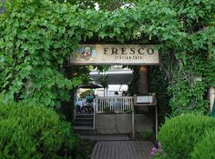 Fresco Italian Cafe - a tiny restaurant tucked away in a residential neighborhood that is very romantic. We ate there every year on our anniversary. Great memories and great food!
