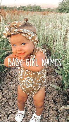 Baby Girl Names Uncommon, Cute Baby Girl Names, Unique Baby Names, Cute Baby Girl Outfits, Cute Little Baby, Pretty Names, Cute Names, Kid Names, Country Baby Names
