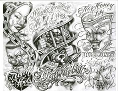 tattoo flash that goes with songs