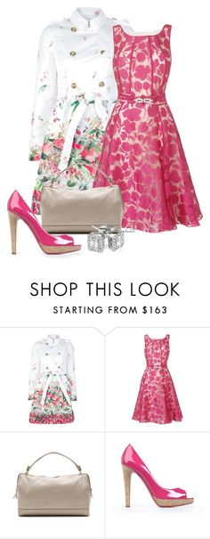 """Spring"" by christa72 ❤ liked on Polyvore featuring RED Valentino, Phase Eight, Salvatore Ferragamo, Moschino and Reeds Jewelers"