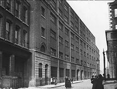Inch Print - High quality prints (other products available) - May Jacob& Biscuit factory, Dublin at the time of the Easter Rising 1916 (Photo by Topical Press Agency/Getty Images) - Image supplied by Fine Art Storehouse - Photograph printed in the USA Dublin Street, Dublin City, Poster Prints, Framed Prints, Canvas Prints, Old Pictures, Old Photos, Dublin Ireland, Ireland 1916