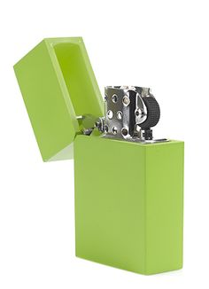 i don't smoke, but, who could turn down such a cool lighter?