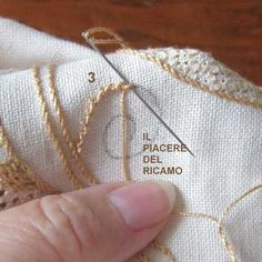Прогулочный вышивка: учебное пособие