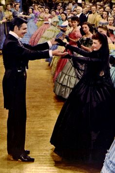 Clark Gable & Vivien Leigh ~ Gone With The Wind, 1939