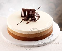 Opera Gran Dessert - Torte fredde - tre cioccolati