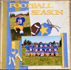 Football Season - Scrapbook.com