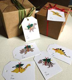 Printable Gift Tags 6 funny printable christmas by CanigrinShop