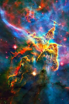 Space: Carina Nebula, Over Four Million Light Year's Away.!