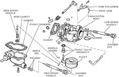 outboard motor carburetor diagram