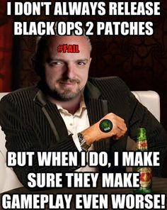 """On April 1o Treyarch released its latest update to Call of Duty Black Ops 2. The hopes, as always, were that they would take a serious look into the CRITICAL ISSUES surrounding their featured game. These hopes were quickly doused as we reviewed the list of """"fixes.""""  Call of Duty, Xbox, #GetSome Elite Gaming, Black Ops 2, COD, Update, Fixes, patches, Patch, Patch notes, current fix, David Vonderhaar, Treyarch, fail, issues, errors, lag, lagbots, aim, aimbots, lag compensation, Infinity ward"""