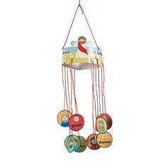 Jesus & the 12 Disciples Mobile Craft for kids - OrientalTrading.com