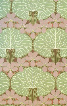 Design work by Rene Beauclair, produced in by elvia art nouveau Motifs Art Nouveau, Design Art Nouveau, Motif Art Deco, Art Design, Art Nouveau Pattern, Motifs Textiles, Textile Patterns, Textile Design, Art And Illustration