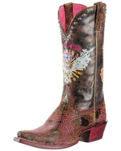 Ariat Women's Pink & Sassy Soule Boot - Wild Brown $469.95