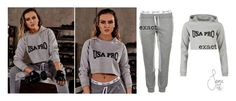 """""""perrie edwards for usa pro"""" by leigh-jena ❤ liked on Polyvore featuring USA Pro"""