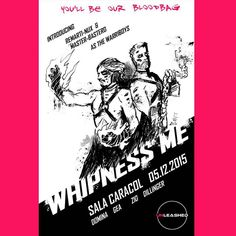 """""""Whipnessme"""". Introducing: @RemartinuX & Master Basterd. Ilustration by: Zio Dillinger"""