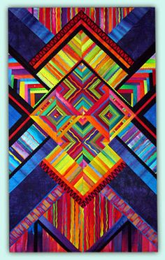 Melody Johnson: Art Quilts - Galleries - Geometric Abstractions 2